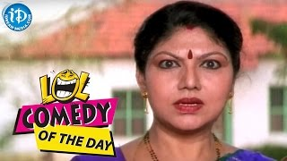 Comedy Of The Day 285 ||  K R Vijaya Comedy Scene || NTR Nagar Movie - IDREAMMOVIES