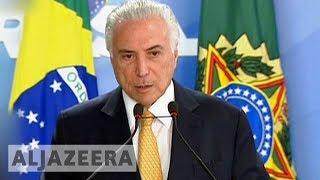 Brazil's Temer gives military control of Rio security - ALJAZEERAENGLISH