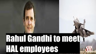 #RafaleWar Brews: Rahul Gandhi to meet HAL employees in Bengaluru - NEWSXLIVE