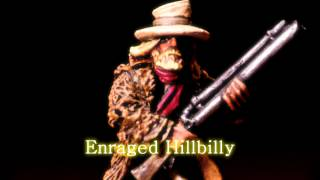 Royalty Free :Enraged Hillbilly