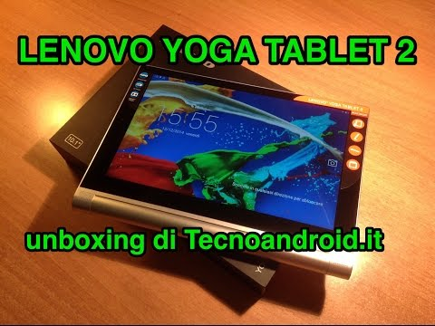Lenovo Yoga Tablet 2 - unboxing in italiano