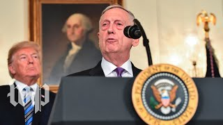 Mattis: 'We received the largest military budget in history' - WASHINGTONPOST