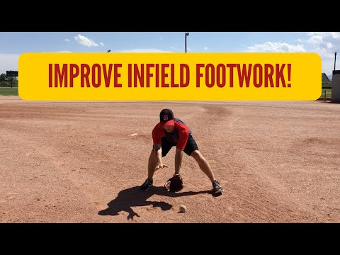 How to: Improve Baseball Infield Footwork! (3 DRILLS!!)