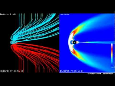G4 Geomagnetic Storm / Magnetosphere Simulation Aug 5, 2011