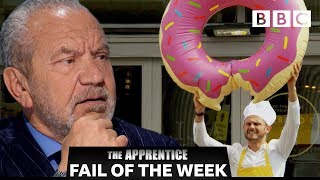 FAIL OF THE WEEK: Hot sauce doughnut?!? | The Apprentice - BBC - BBC