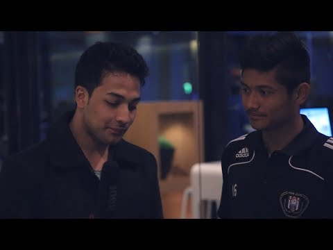 Ramailo guff with Bimal G. Magar l GOAL Reaction l AEGON Future Cup