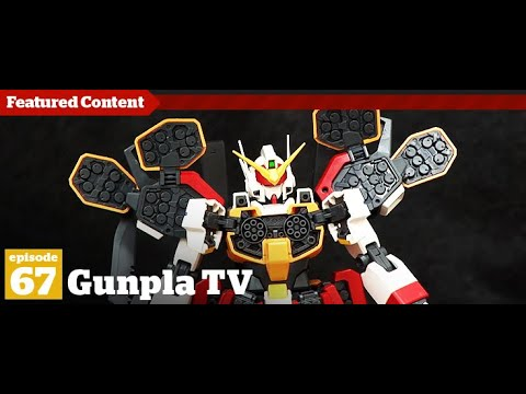 Gunpla TV Episode 67 - Hlj.com - MG Heavy Arms - Millennium Falcon