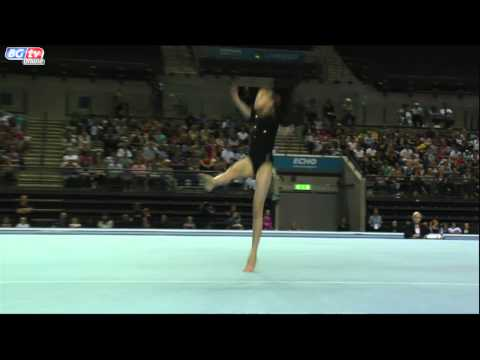Rebecca Tunney - Juniors - Floor - App Finals - GOLD