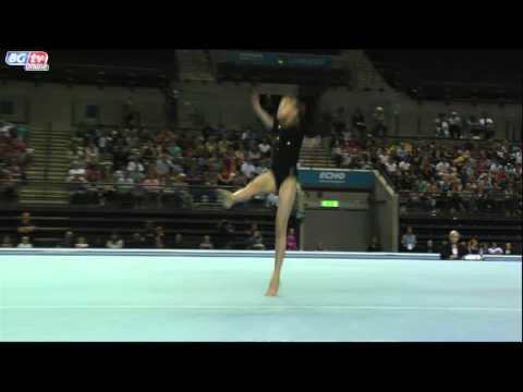 Rebecca Tunney - Juniors - Floor - App Finals - GOLD