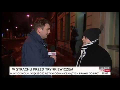 Ruda Śląska w strachu, przyjedzie Trynkiewicz? (TVP Info, 28.01.2014)