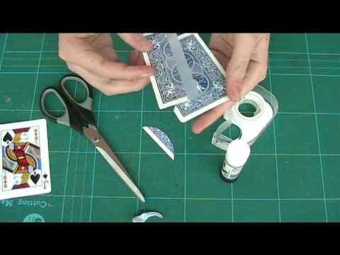 TUTORIAL: Playing Card Through Arm Illusion