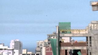 بالفيديو.. كاميرا تلفزيون ترصد الطبق الطائر في سماء بيرو هذه المرة