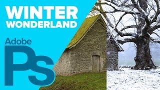 Create a Winter Wonderland in Photoshop