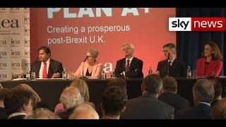Brexiteers unveil alternative divorce plan - SKYNEWS