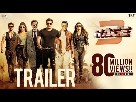 Race 3 Hindi Movie Trailer | Salman Khan | Remo D'Souza |