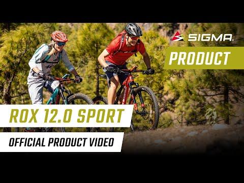 ROX 12.0 SPORT GPS-Fahrradcomputer 2018 von SIGMA SPORT in Aktion