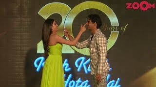 Janhvi Kapoor & Ishaan Khatter CUTE Moments at 20 Years of Kuch Kuch Hota Hai Celebration - ZOOMDEKHO