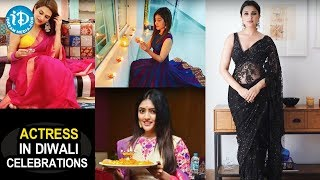 Bollywood Actresses Diwali Celebrations || Shraddha kapoor || Mouni Roy || Parneeti || iDream Movies - IDREAMMOVIES