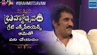 Rao Ramesh About Jayasudha performance in Brahmotsavam Movie | TFPC - TFPC