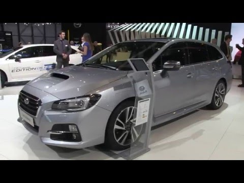 Autoperiskop.cz  – Výjimečný pohled na auta - Autosalon Ženeva 2016 – nový Concept Subaru XV, Subaru Levorg – VIDEO