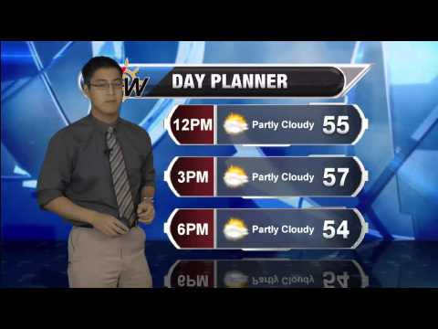 October 30th, 2014 Morning Forecast