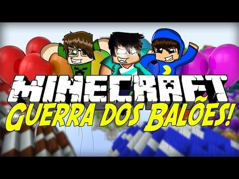 Minecraft: GUERRA DE BALÕES (SkyWars)