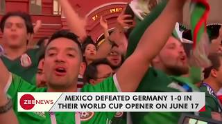 Mexican fans celebrate their team's World Cup win against Germany - ZEENEWS