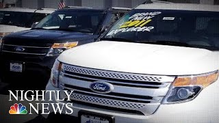 Ford Urged To Recall 1.3 Million Vehicles Over Carbon Monoxide | NBC Nightly News - NBCNEWS