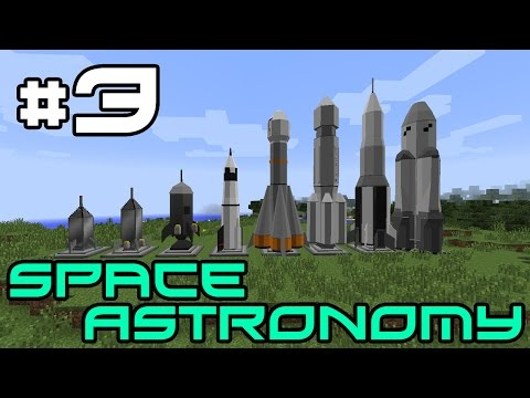 Minecraft Space Astronomy - Smeltery and New Base! #3