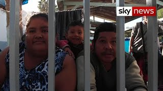 Mexico border: Migrant caravan becoming humanitarian crisis - SKYNEWS