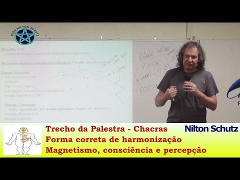 Nilton Schutz - Chacras - Forma correta de harmonização, magnetismo, consciência e percepção
