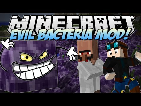 Minecraft EVIL BACTERIA MOD Welcome to the Anti Lab Mod Showcase