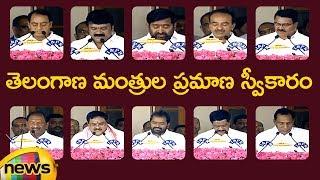 Telangana Cabinet Ministers Oath Taking Ceremony At Raj Bhavan | Telangana Latest News | Mango News - MANGONEWS