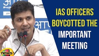 Saurabh Bharadwaj On IAS Officers Boycotted The Important Meeting On Alarming Pollution Levels - MANGONEWS