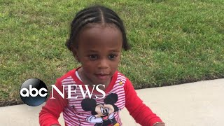 Toddler abandoned outside a Houston home - ABCNEWS