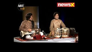 Suhail Yusuf Khan (Sarangi Player) & Shariq Mustafa (Tabla Player): ART TALK - NEWSXLIVE