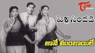 Pelli Sandadi Movie Songs    Jane Bomabay Le Mama Video Song    ANR, Anjali Devi - TELUGUONE