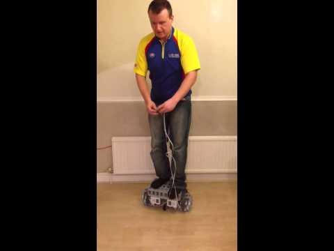 LEGO Human Segway Prototype : 90kg demo