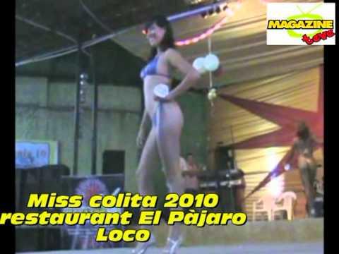 PIURA MISS COLITA 2010 EN RESTAURANT EL PÁJARO LOCO