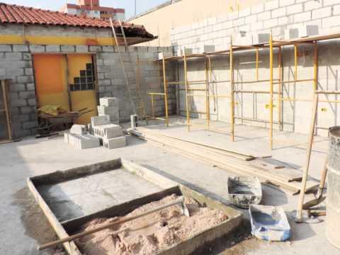 Construção Auditório Sintaresp