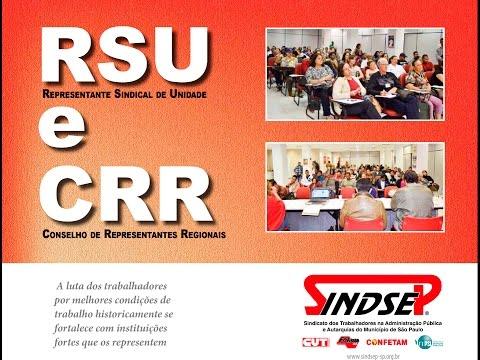 Reunião de RSU - 13 de agosto de 2015