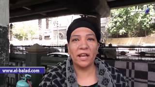 بالفيديو.. بائعة شاي بالإسعاف: 'نزلت أصرف ع البيت بعد حبس جوزي وابني'