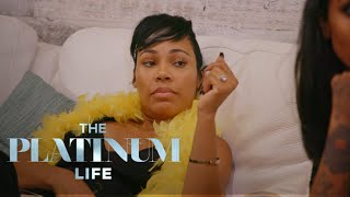 La'Myia Fights With Shantel at Nazanin's Bachelorette Party | The Platinum Life | E! - EENTERTAINMENT