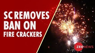 Supreme Court rules out blanket ban on firecrackers, imposes restrictions - ZEENEWS