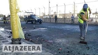 Deadly twin blasts rock central Baghdad, dozens killed - ALJAZEERAENGLISH