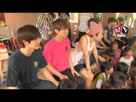 BTOB Goes Orphanage LightHouse Phnom Penh Cambodia