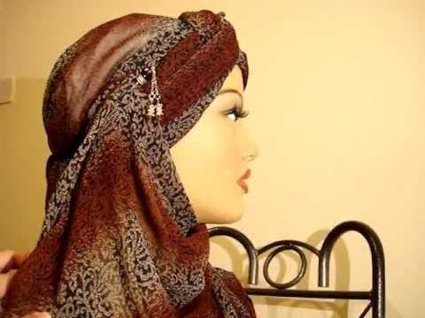 Turban Hijab Style - Easy Hijab tutorial DIY - How to do hijab