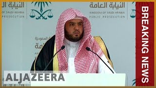 🇸🇦Saudi prosecutor seeks death penalty for five in Khashoggi murder l Breaking News - ALJAZEERAENGLISH