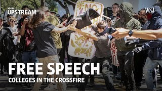 Free Speech: Colleges in the Crossfire - WSJDIGITALNETWORK