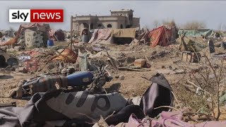 Alex Rossi goes Inside the Islamic State's last stand in Baghouz - SKYNEWS